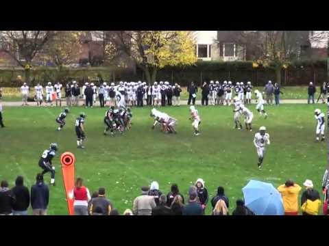 Avery Lawerence #5 Senior Football Highlights