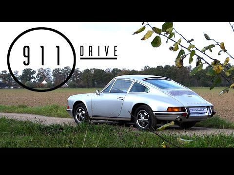 PORSCHE 911 2.2 E Coupé 1970 - Test drive in top gear - Engine sound | SCC TV