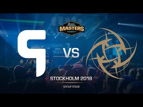 Ghost vs NiP - DH MASTERS Stockholm - map2 - de_train [Anishared, ceh9]