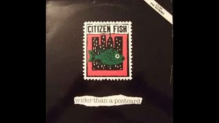 Citizen Fish – Wider Than A Postcard LP (1991) [VINYL RIP] *HQ AUDIO* *RE-ENGINEERED*