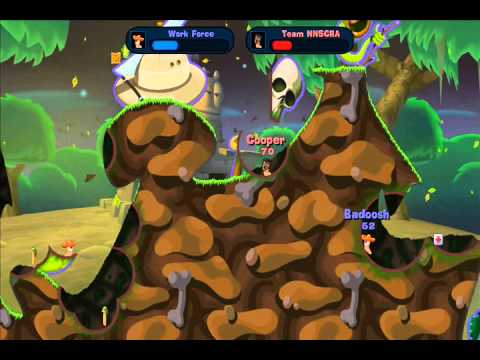 //NNSCRA// GAMING: Worms Reloaded (2) |