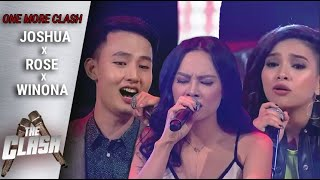 Joshua Dela Cruz vs Rose Velasquez vs Winona Galosmo | One More Clash | The Clash Season 3