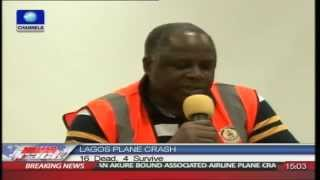 Accident Investigation Bureau Chief Reveals Casualty Figure In Lagos Plane Crash