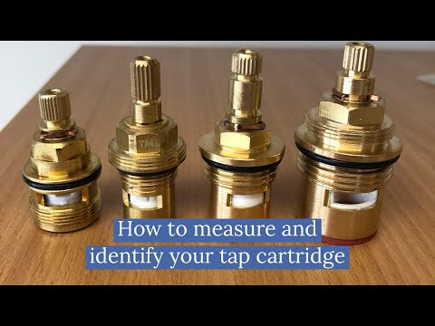 How to measure and identify replacement tap cartridge when tap ...