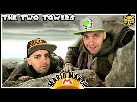 Taking The One Ring To Mordor! Mario Maker