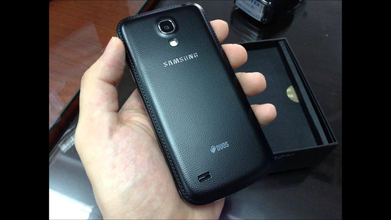 Samsung Galaxy S4 Mini Black Edition - YouTube