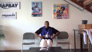 Coolio Da Unda Dogg speaks about Rappers wearing Mac Dre Clothes