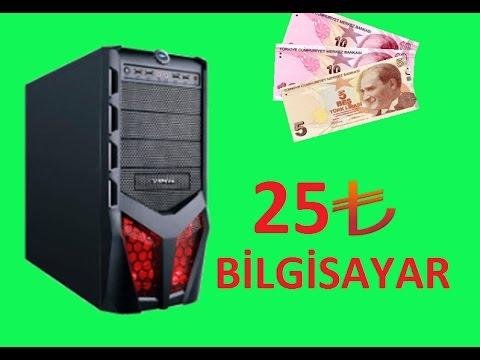 25TL'ye Bilgisayar Toplama