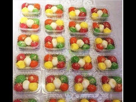 Chè trôi nước ngũ sắc - New York / Five Flavors Sweet Rice Balls