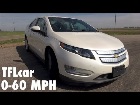 2014 Chevy Volt 0 60 Mph Hot Lap Leader Board Review Youtube