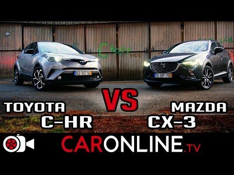 TOYOTA C-HR ou MAZDA CX-3 | Qual o MELHOR SUV com SWAG? [Review Portugal]