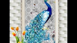 Алмазная мозаика/вышивка 5D павлин Аллиэкспресс