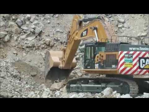 Cat 374 LME Excavator @ Hillhead 2014
