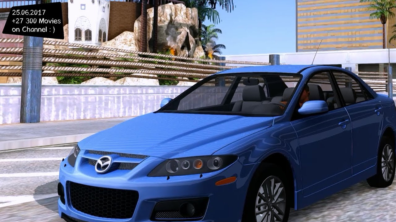 mazda 6 mps new enb top speed test gta mod future youtube. Black Bedroom Furniture Sets. Home Design Ideas