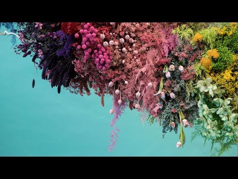 Colourful Flower Installation