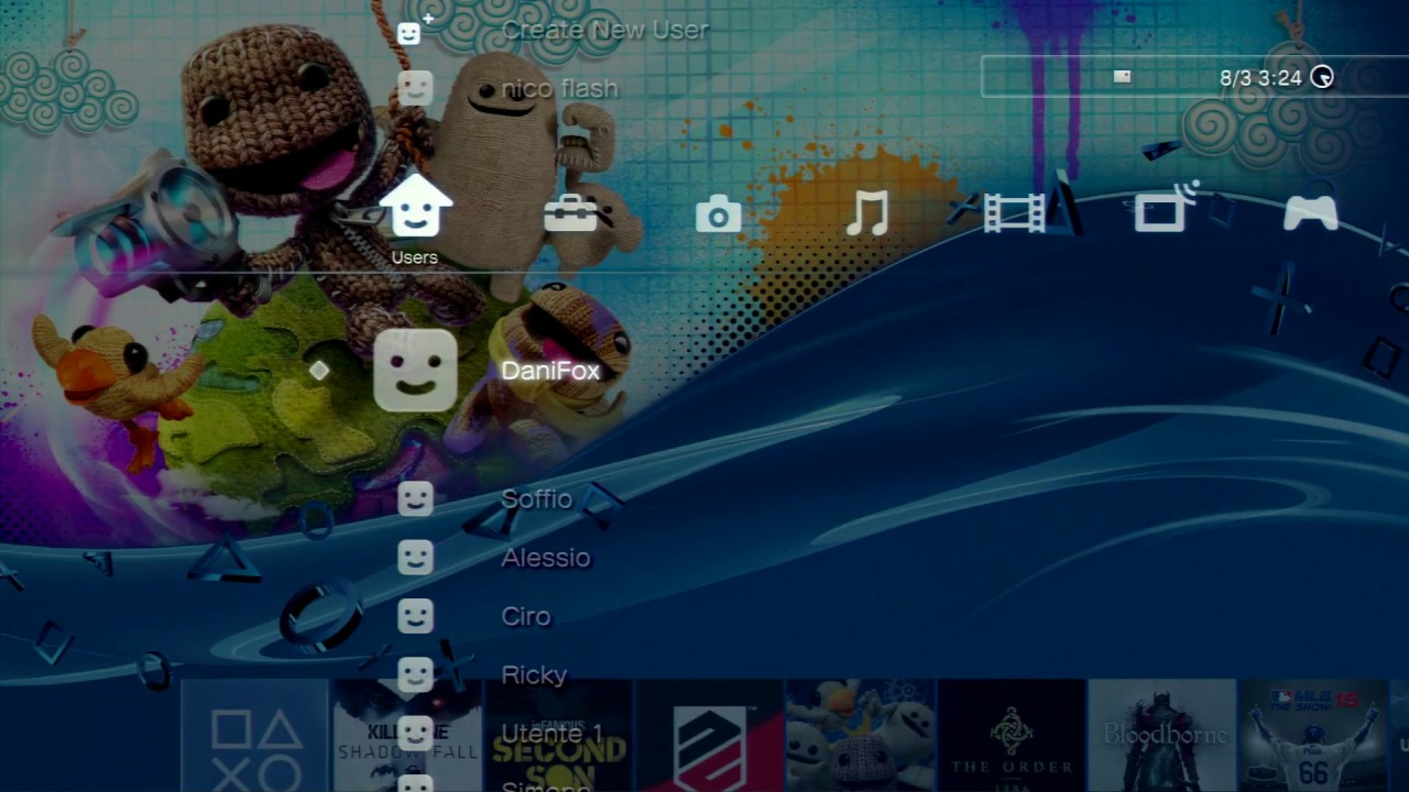 ps3 to ps4 custom theme for playstation 3 ps3 themes com youtube