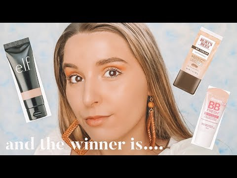 COMPARING THE TOP 5 DRUGSTORE BB CREAMS | Prepping For Tropical Vacation