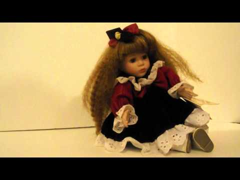 Soft Expressions by Barbara Collins, Musical Vintage  Porcelain Doll