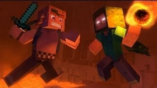 """Take Back the Night"" - A Minecraft Original Music Video [Sub Español]"