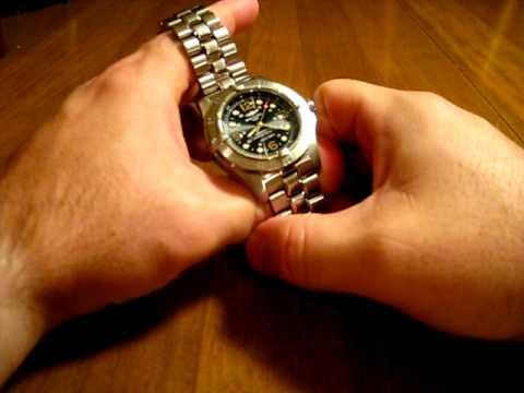 Breitling Superocean Steelfish X-Plus Black Dial Wristwatch