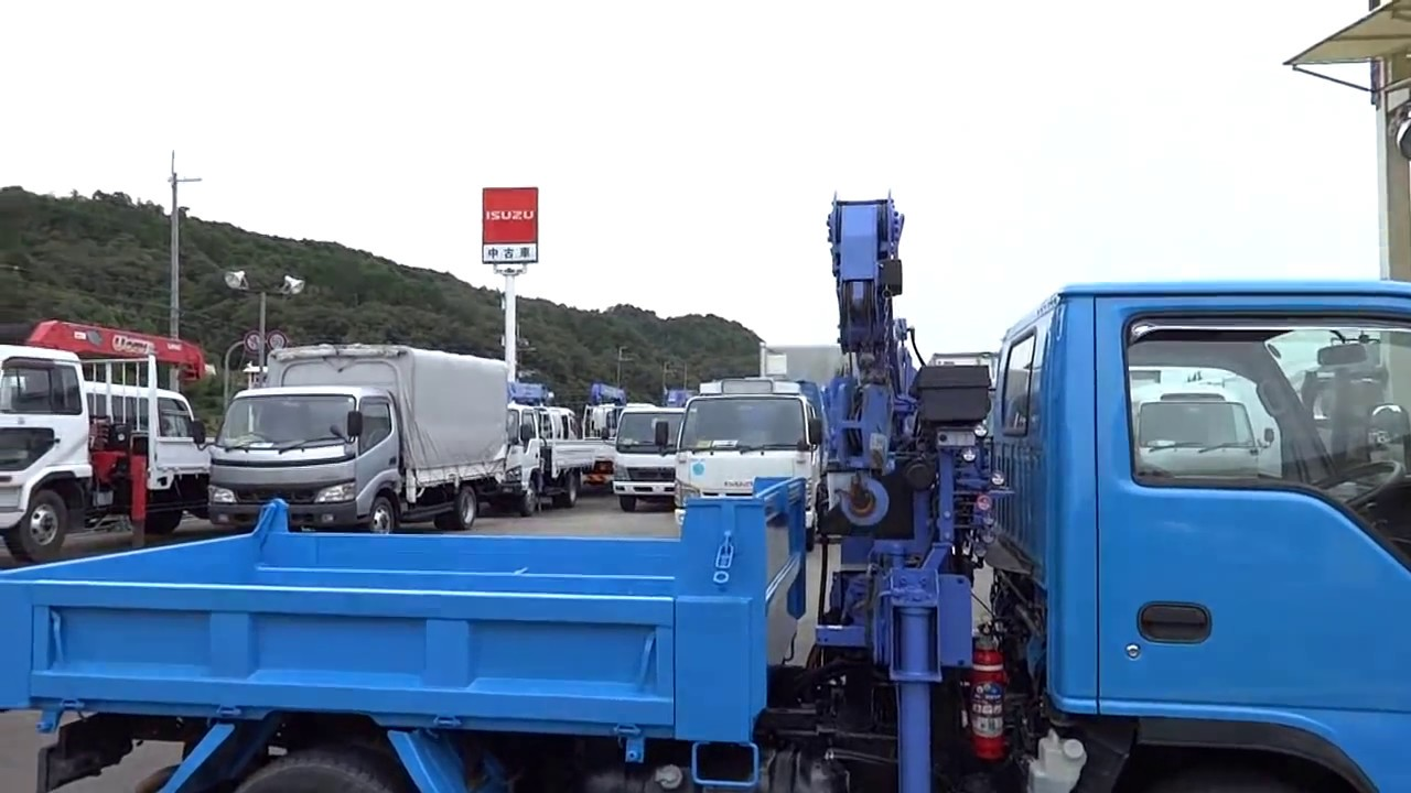 Самодельный мини-кран на грузовичок. - YouTube