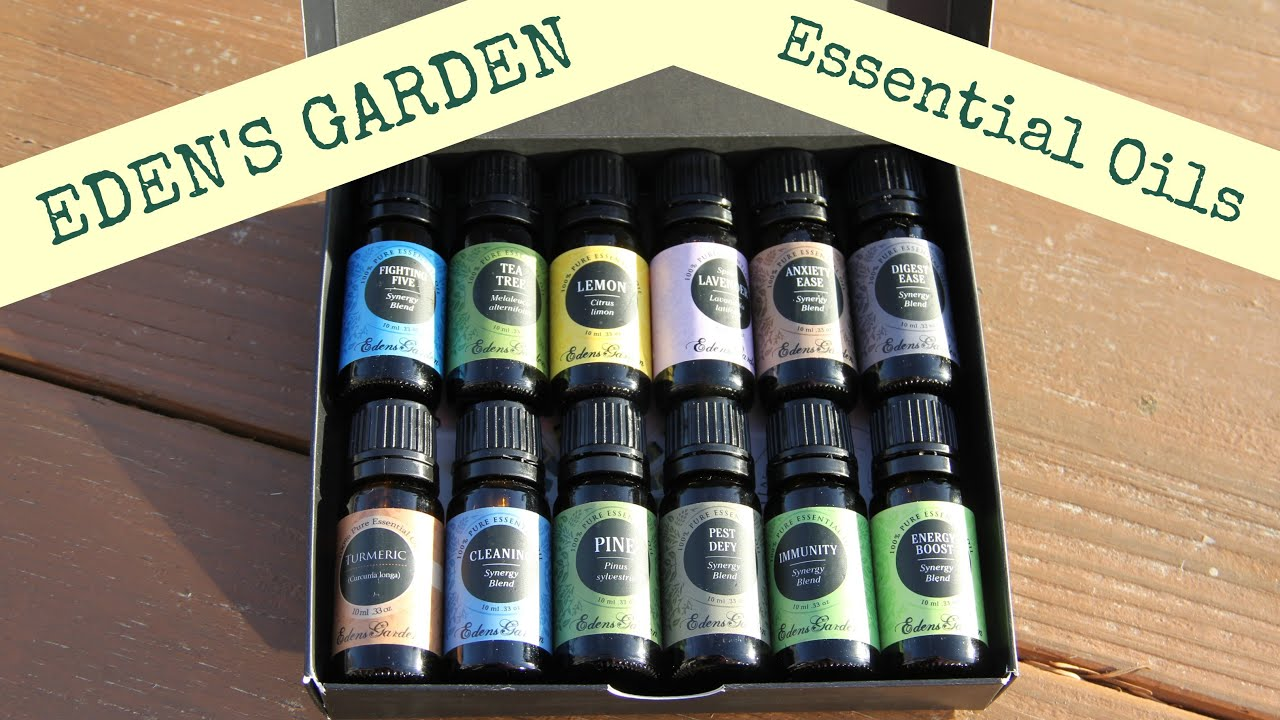 why i chose edens garden essential oils my 12 oil starter kit youtube - Edens Garden