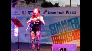 "UkuHayley - ""All The Way""  by Journey (Ukulele Cover) @ Summer Nights Gibraltar"