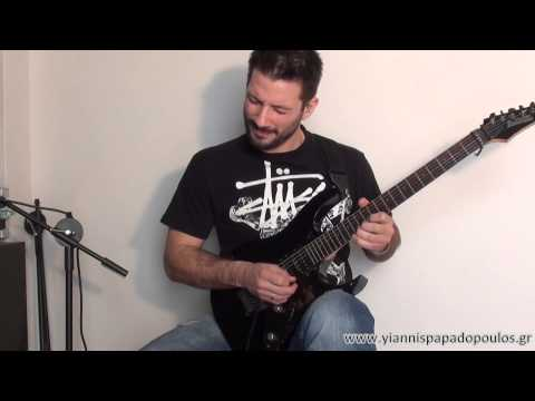 *1st Place Winner* - Yiannis Papadopoulos -  Ibanez Guitar Solo Competition 2013