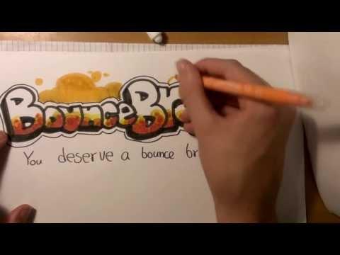 Amazing BounceBreak.com fan made graffiti artwork