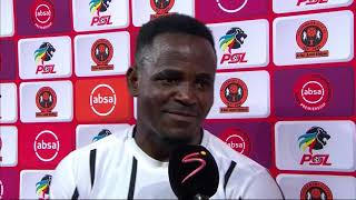 Absa Premiership | Polokwane City v Orlando Pirates | Post-match interview with Gabadinho Mhango