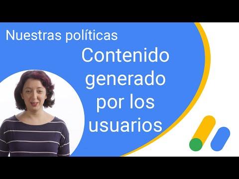 Nuestras políticas: contenido generado por los usuarios
