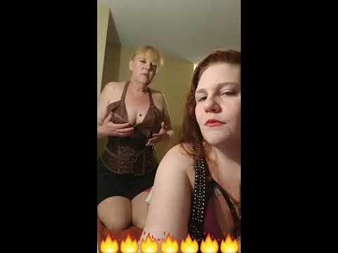 Princess-Gemini & Mistress Cassidy Cream Share There First Facebook Live Post.