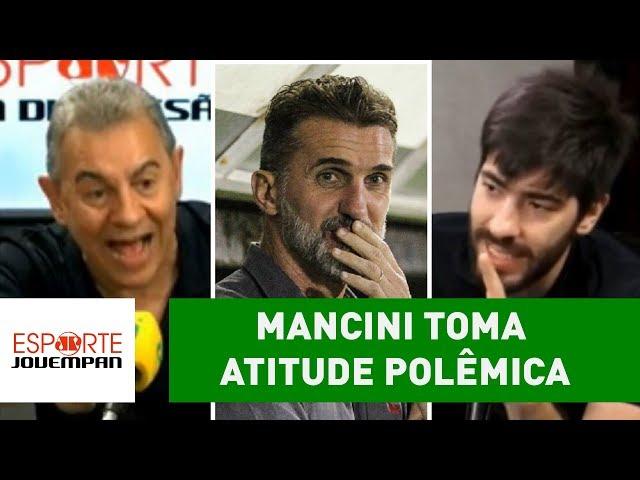 Mancini toma atitude polêmica após Ba-Vi, e clima PEGA FOGO!