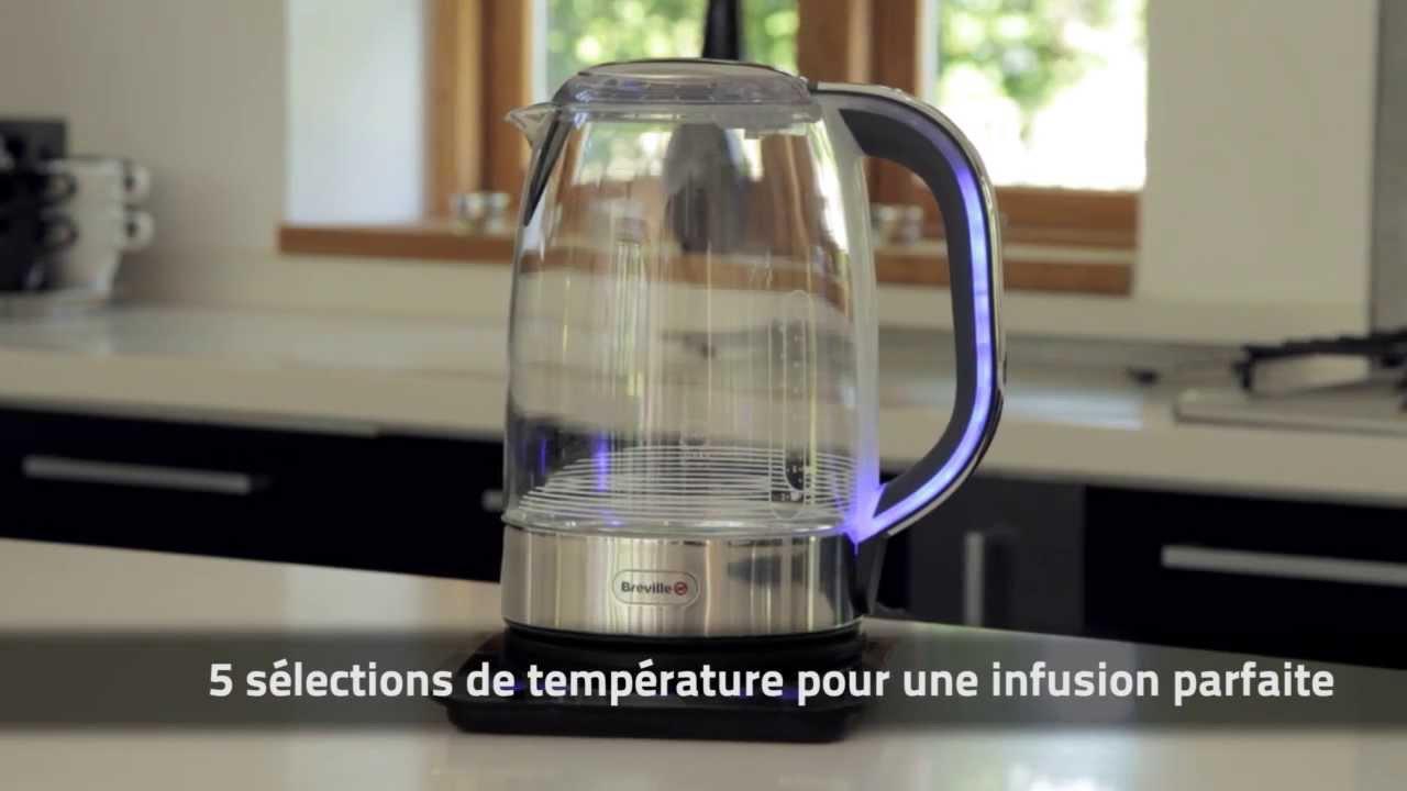 breville vkj813x bouilloire en verre temp rature