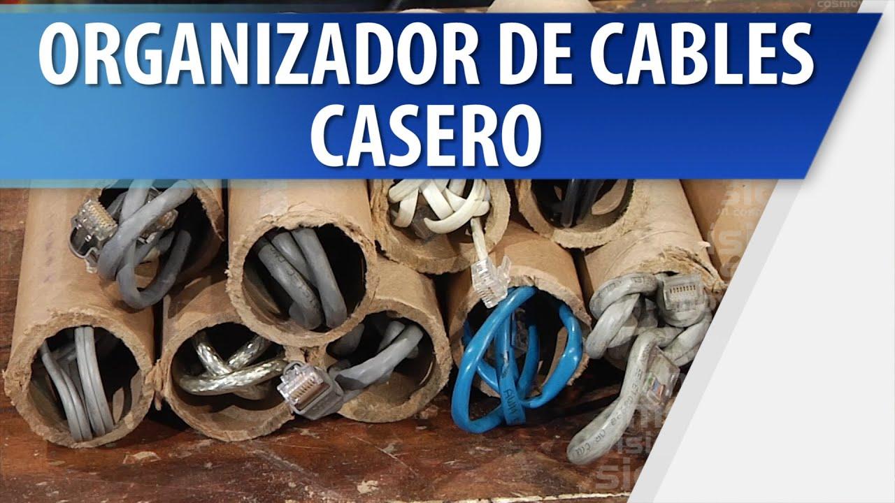Organizador de cables casero youtube - Organizador de zapatos casero ...