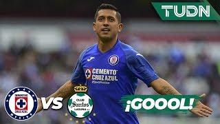 ¡Gool de Cruz Azul! ¡Qué golazo de Elías! | Cruz Azul 2 - 0 Santos | Liga Mx - CL 2020 J-3 | TUDN