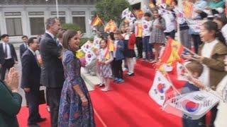 España y Corea del Sur afianzan sus relaciones bilaterales con la visita de los reyes