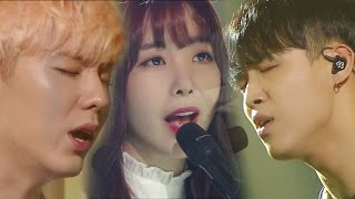 《Special Stage》 레이나X현식X기현(피아니쓰리) - Beautiful goodbye (아름다운 이별) @인기가요 Inkigayo 20160911