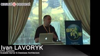 Scalable Server & Database Architecture | Ivan LAVORYK
