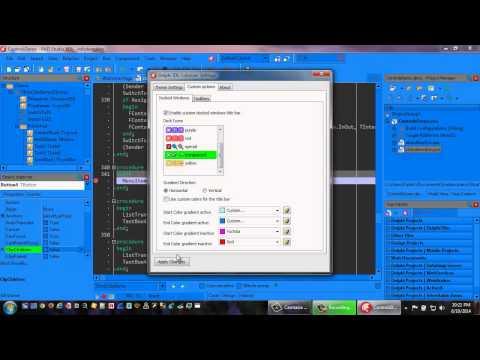 Delphi IDE Colorizer Beta Preview