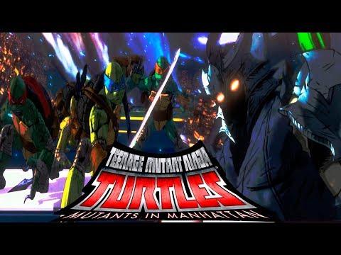ШРЕДДЕР ► МЕГА ФИНАЛ ► Teenage Mutant Ninja Turtles: Mutants in Manhattan #9