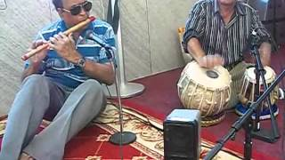 ADHA HAI CHANDRAMA : Played on FLUTE By Dr.N.R.Kamath and TABLA By Kanchan Bhatta (NAVRANG)