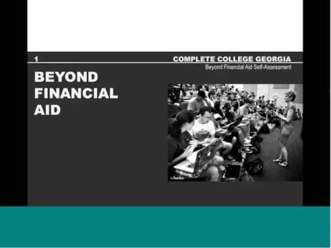 Beyond Financial Aid Self Assessment Guidance from the Lumina Foundation