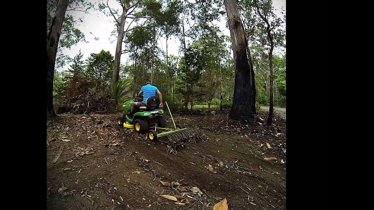 Stick Rake For Ride On Lawnmowers