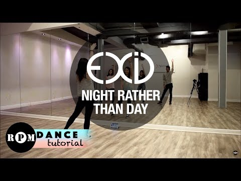 "EXID ""Night Rather Than Day"" Dance Tutorial (Pre-chorus, Chorus)"