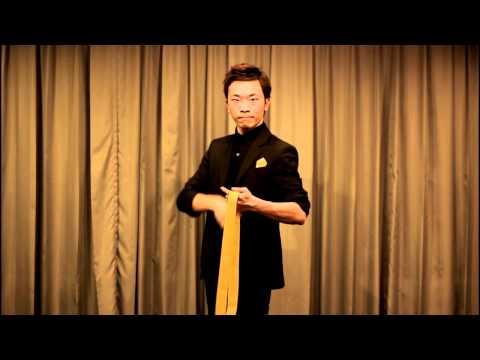 【天天魔法】台灣之光李昂軒最新創作~ Tie Knot ~ 領帶結 (紅色)