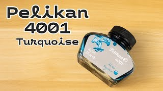 Pelikan 4001 Turquoise | 60ml of Awesome