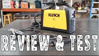 Klutch Portable Welder Review and Test