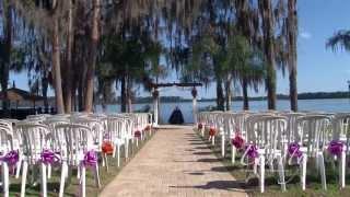 Paradise Cove Wedding Venue in Orlando