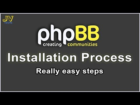 PhpBB Installation Process | PhpBB Tutorial #1